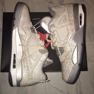 Air Jordan Retro 4 Lasers